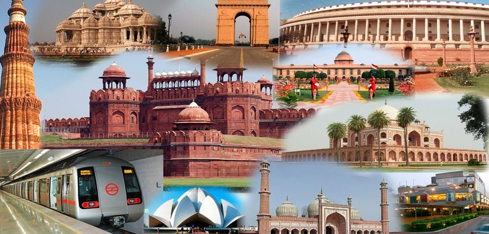 Image which resembles the group of tourist destinations in India